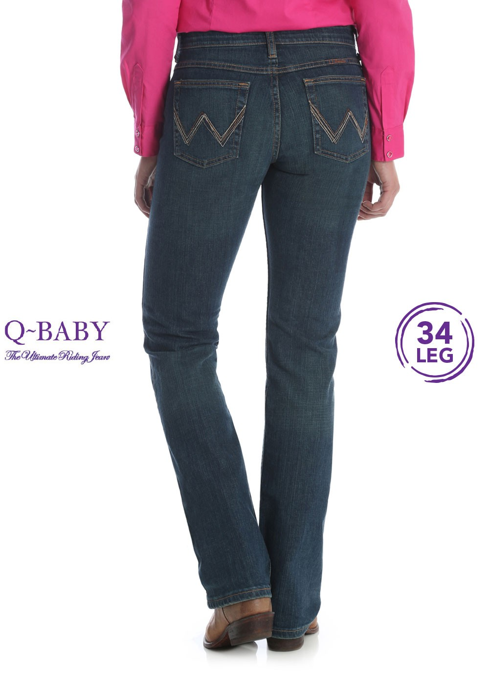Womens Ultimate Riding Jean Q Baby Wrangler