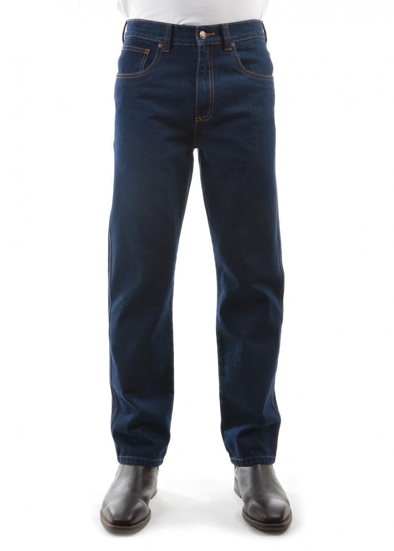 MENS STRETCH DENIM JEAN - 32 LEG