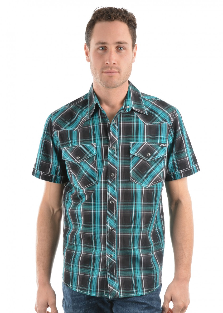 MENS MAC CHECK S/S SHIRT