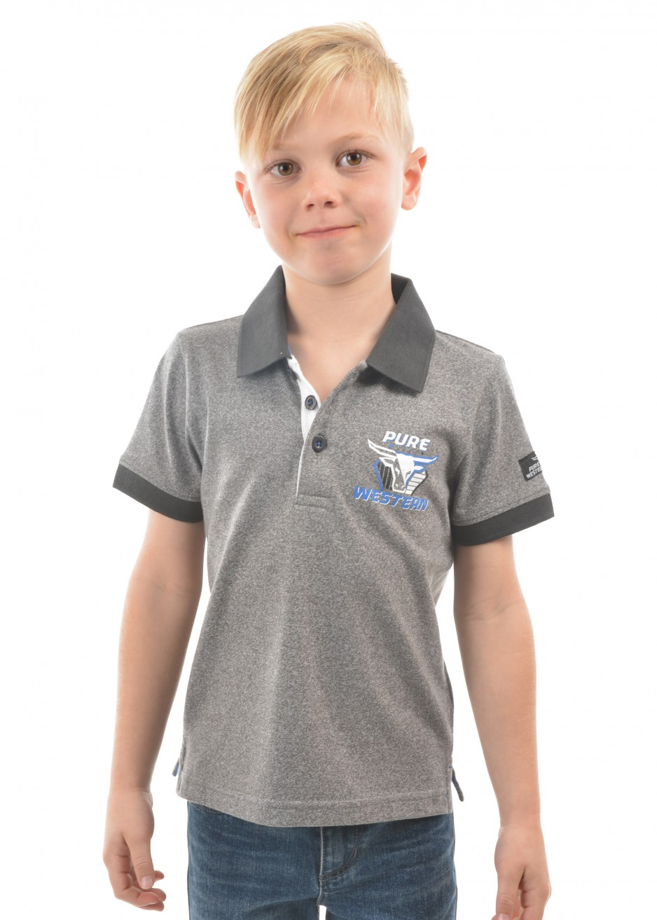 BOYS PIERCE S/S POLO