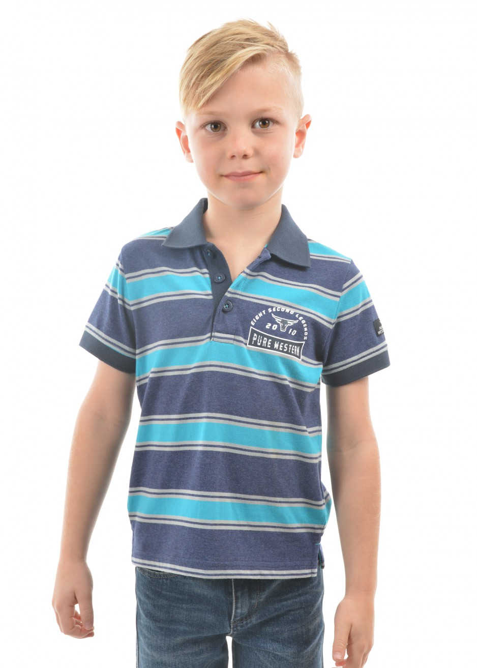 BOYS CLINTON S/S POLO