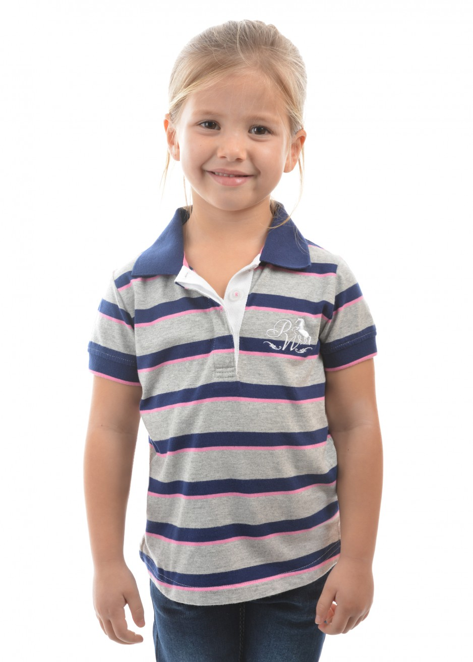 GIRLS SHERIDAN S/S POLO