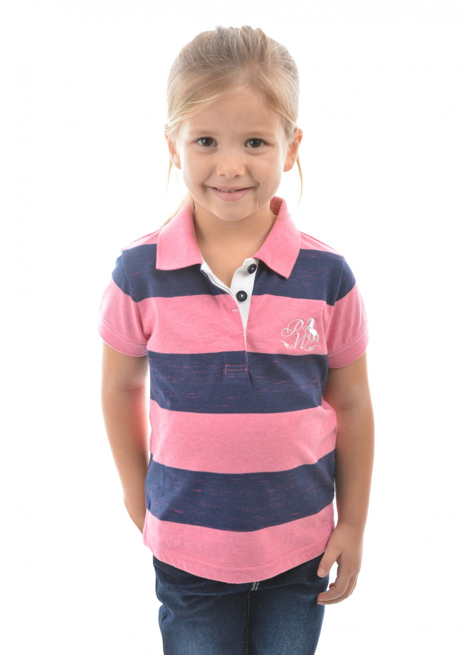 GIRLS NINA S/S POLO