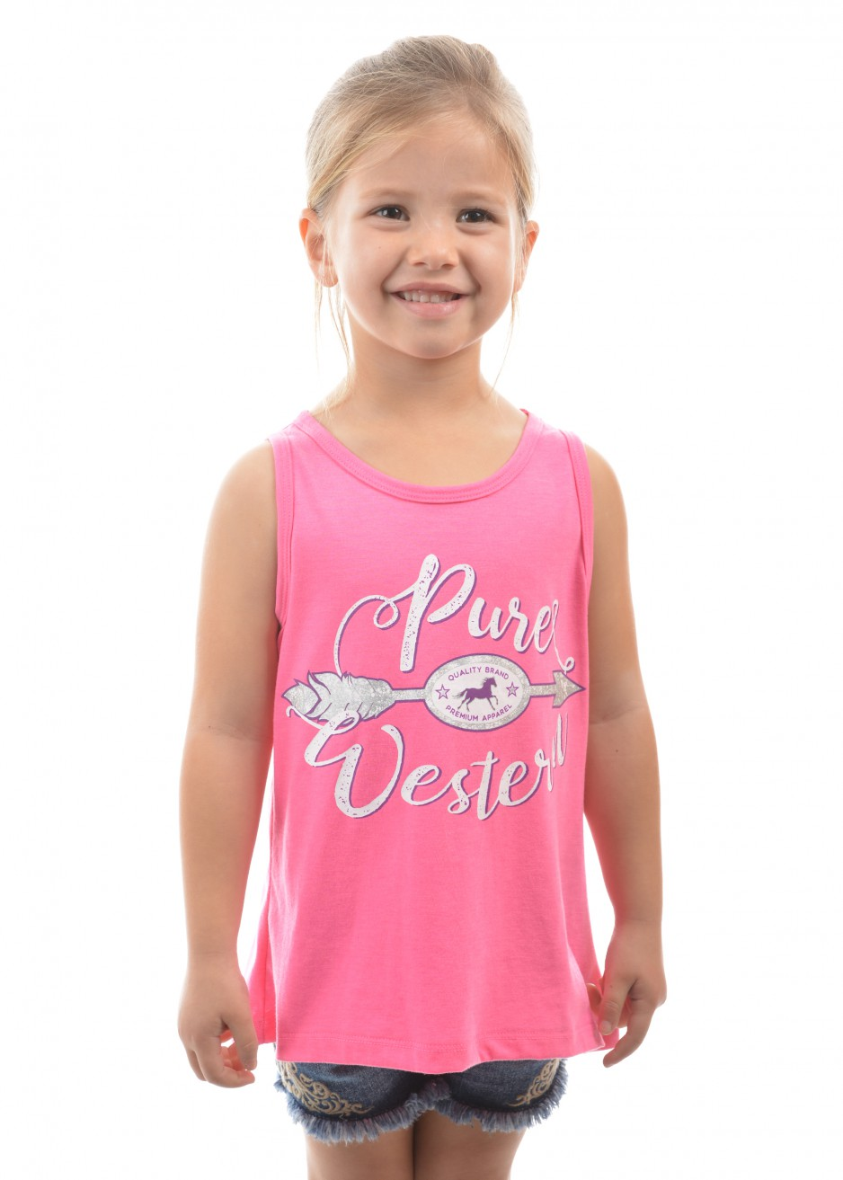 GIRLS ARLA SINGLET TOP