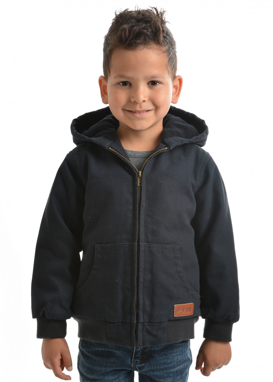 BOYS CANVAS JACKET