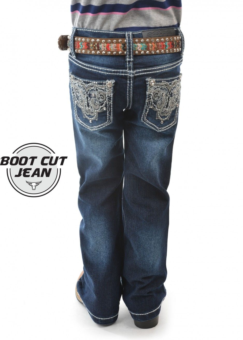 GIRLS HALEY BOOT CUT JEAN