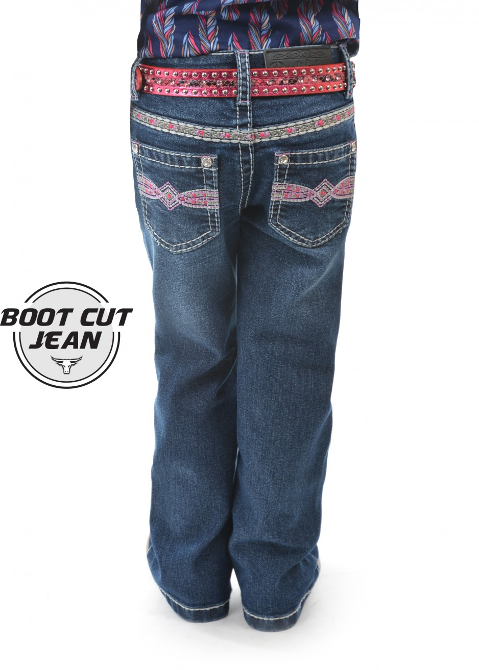 GIRLS MILEY BOOT CUT JEAN