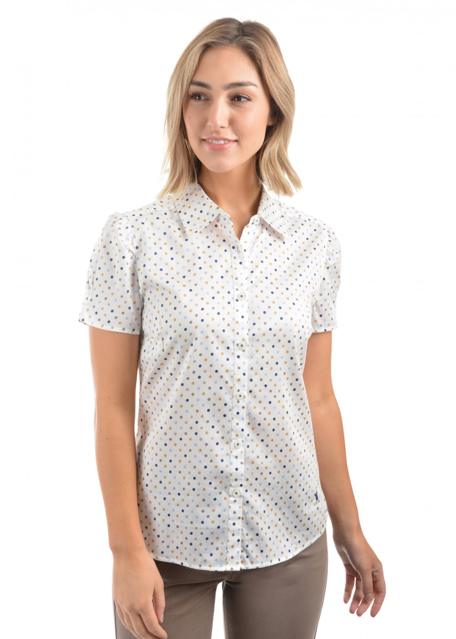 WOMENS SHELBY PRINT S/S SHIRT