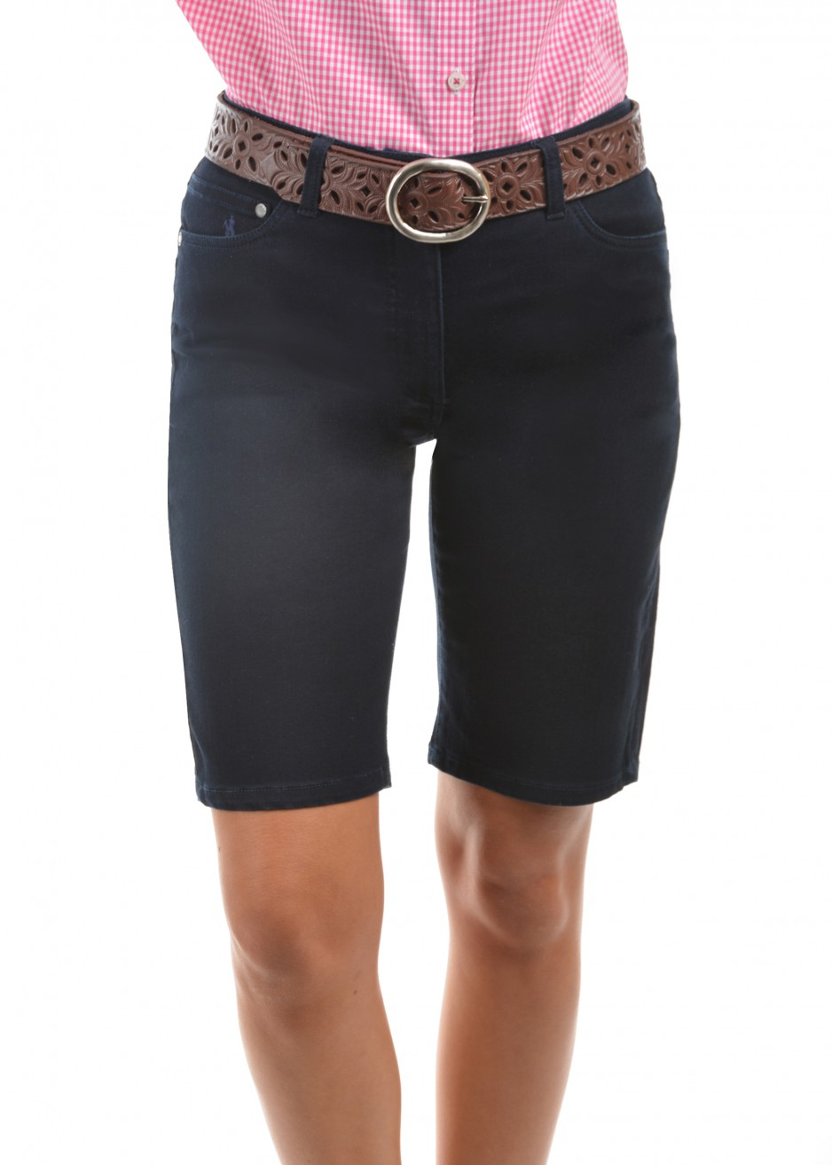 WOMENS JENOLAN WONDER JEAN SHORTS