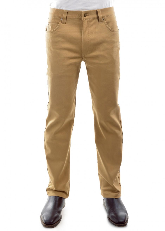 MENS STRETCH STOCKMAN COMFORT WAIST MID-REG-STRAIGHT 32 LEG