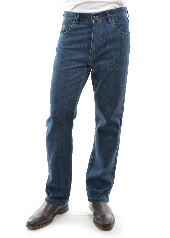 MENS STRETCH JEAN MID-REG-STRAIGHT 30 LEG