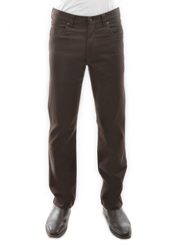 MENS STRETCH MOLESKIN JEAN MID-REG-STRAIGHT 32 LEG