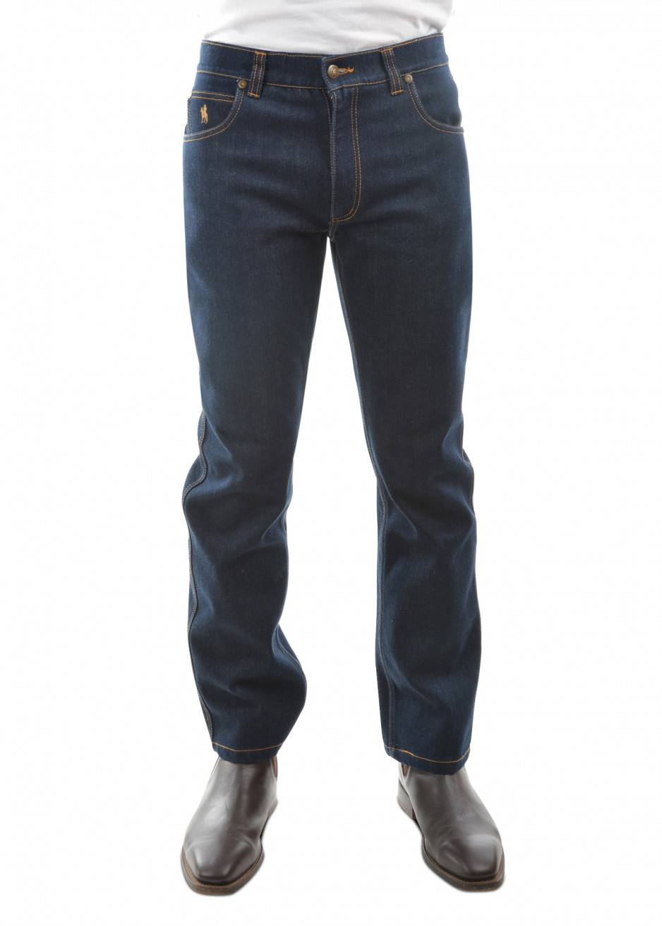 MENS THERMAL COMFORT WAIST JEAN MID-REG-STRAIGHT 32 LEG