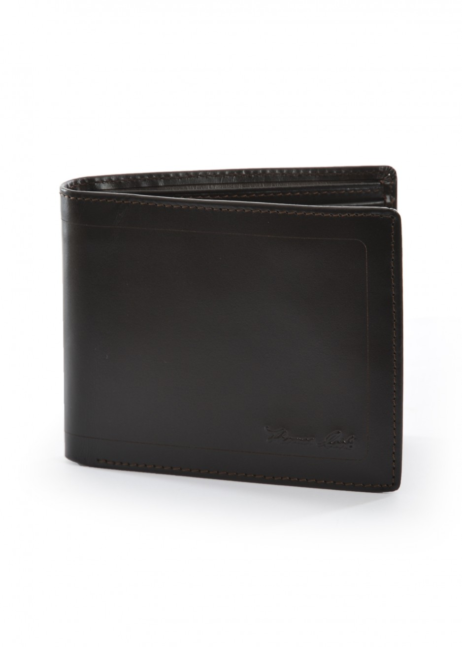 MENS LEATHER EDGED WALLET