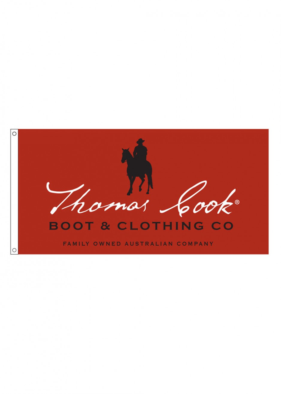 THOMAS COOK LOGO FLAG
