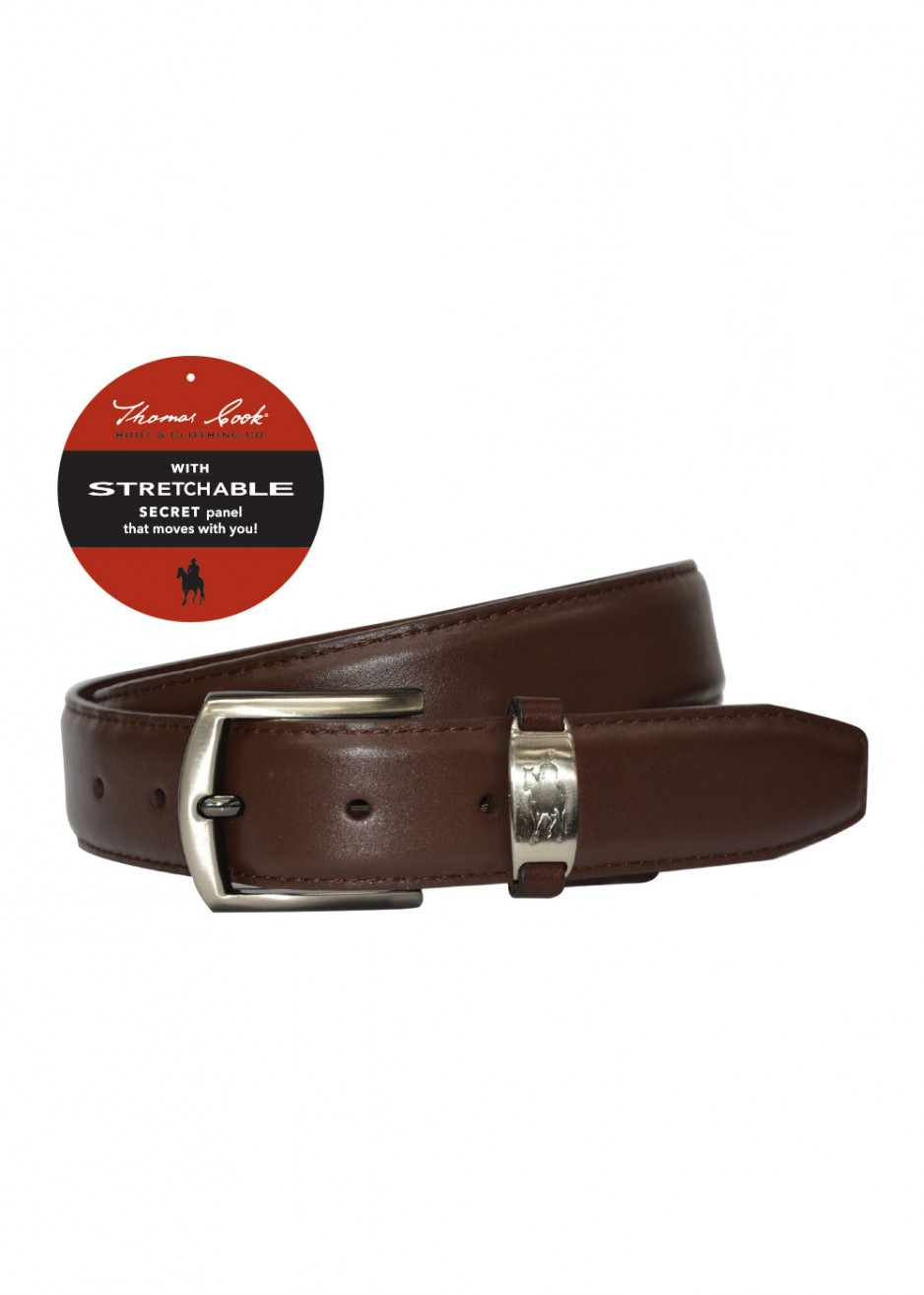 LEATHER COMFORT WAIST BELT