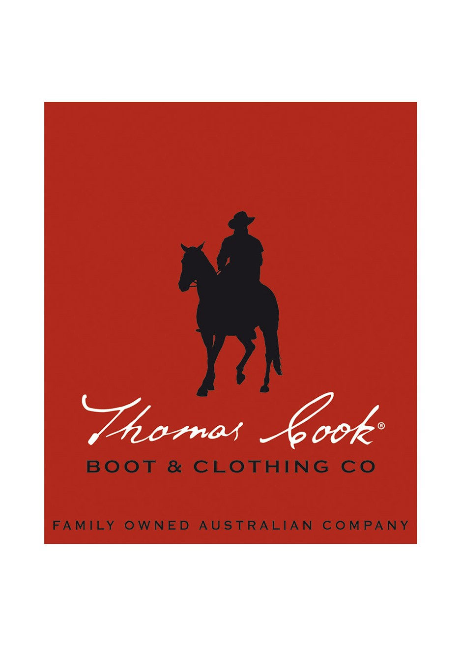 THOMAS COOK LOGO STICKER