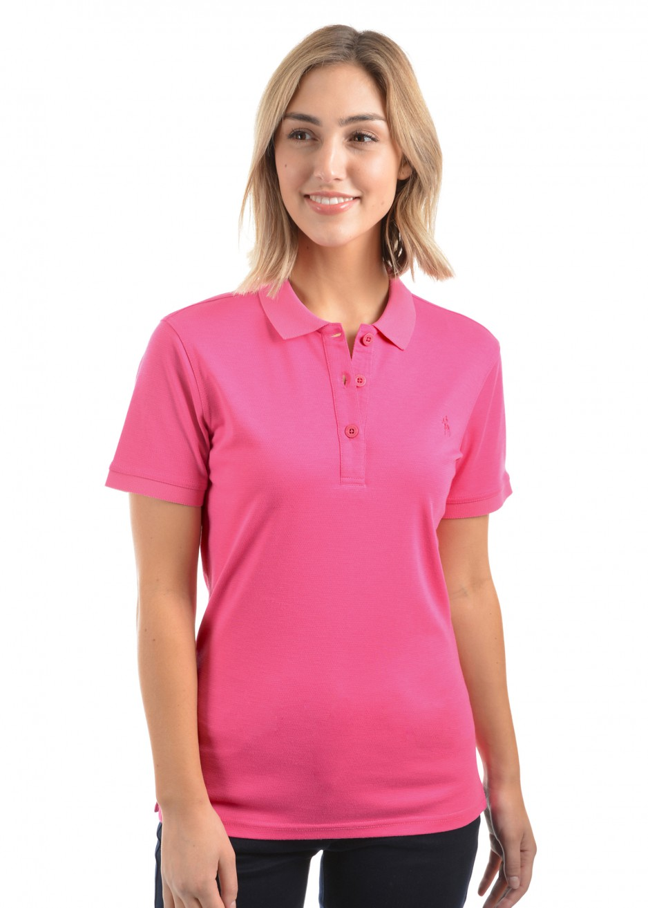 WOMENS BAMBOO S/S POLO