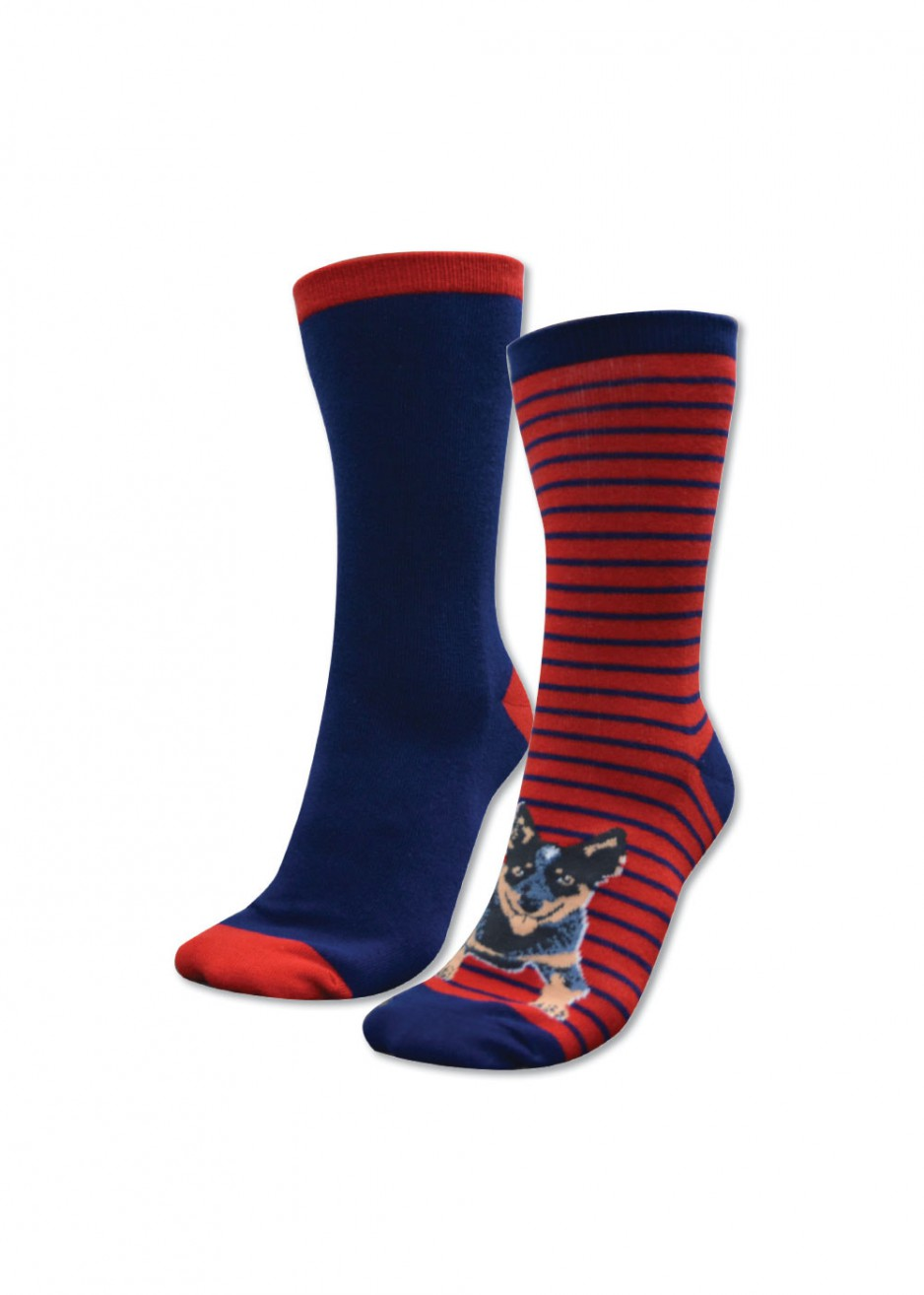 HOMESTEAD SOCKS - TWIN PACK