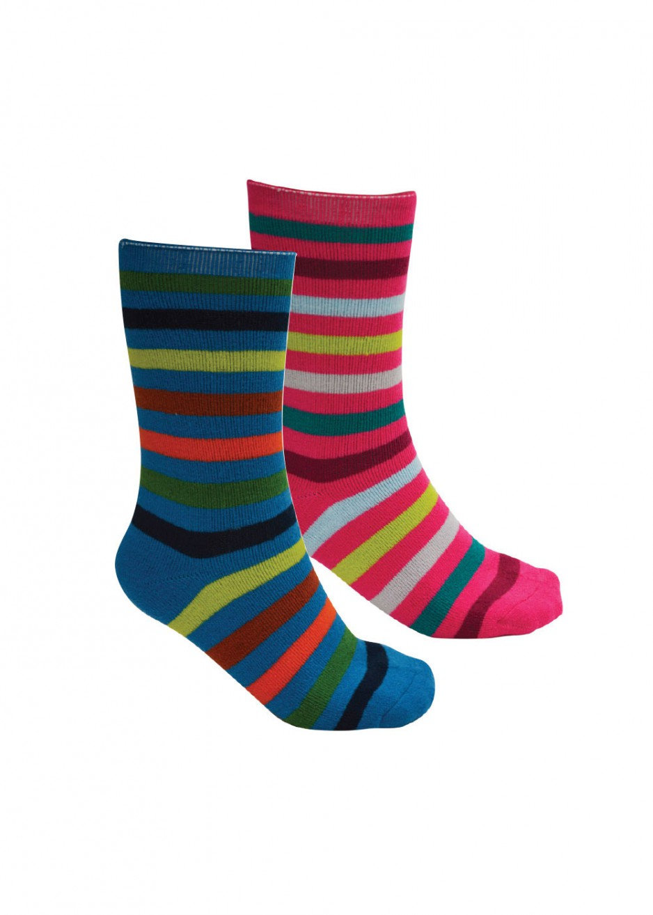 KIDS THERMAL SOCKS TWIN PACK
