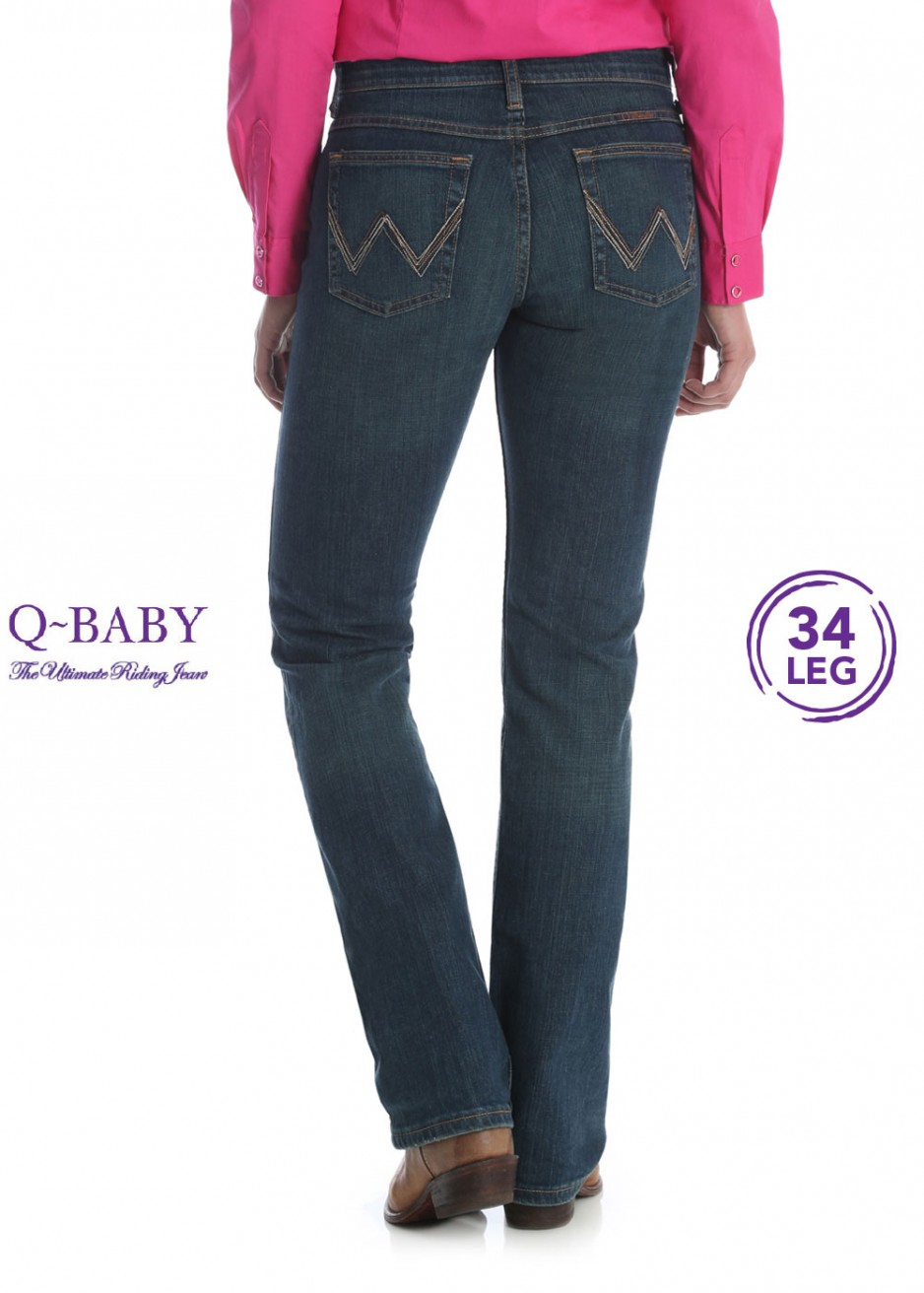 WOMENS ULTIMATE RIDING JEAN - Q BABY