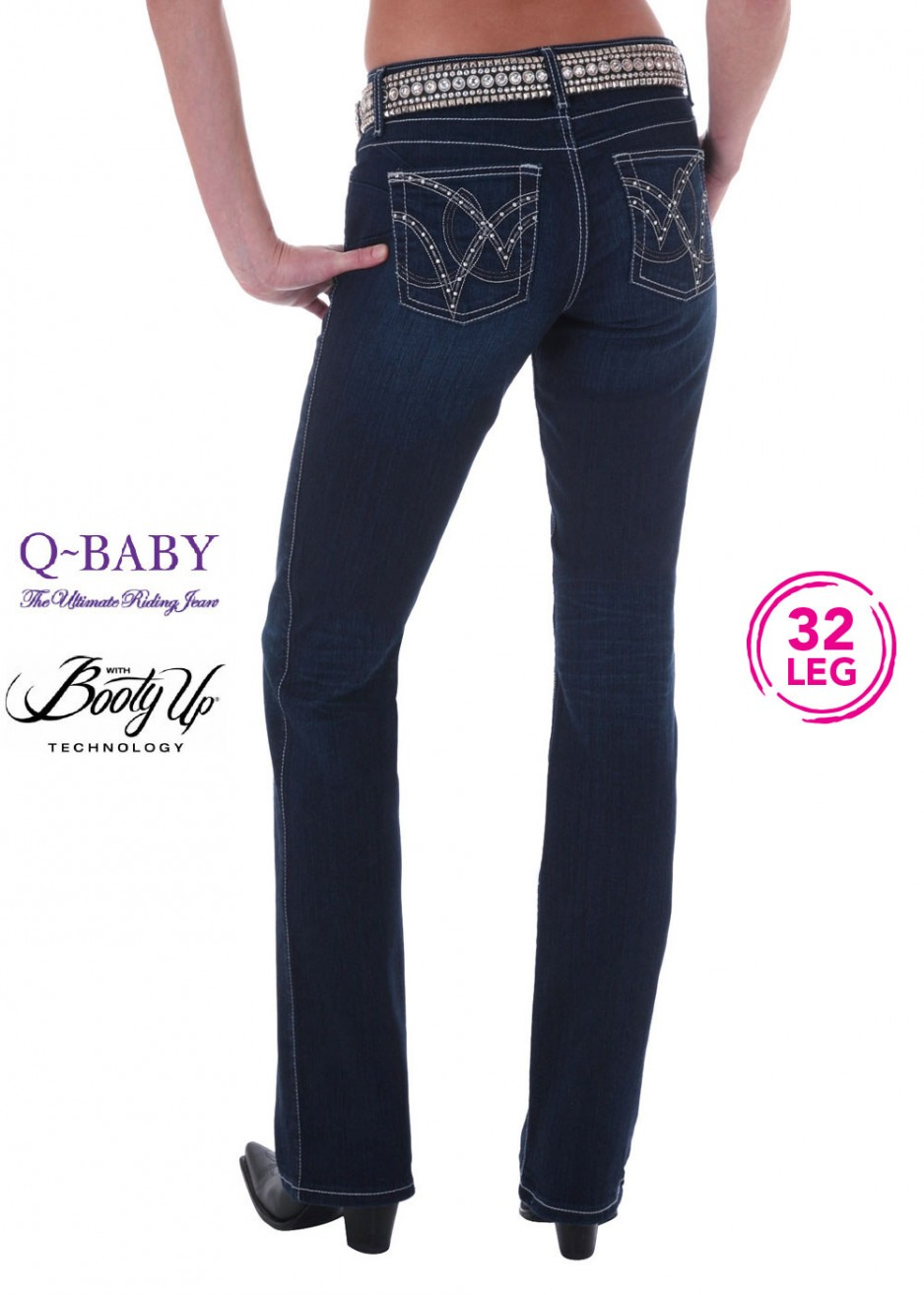 WOMENS ULTIMATE RIDING JEAN - QBABY B/UP