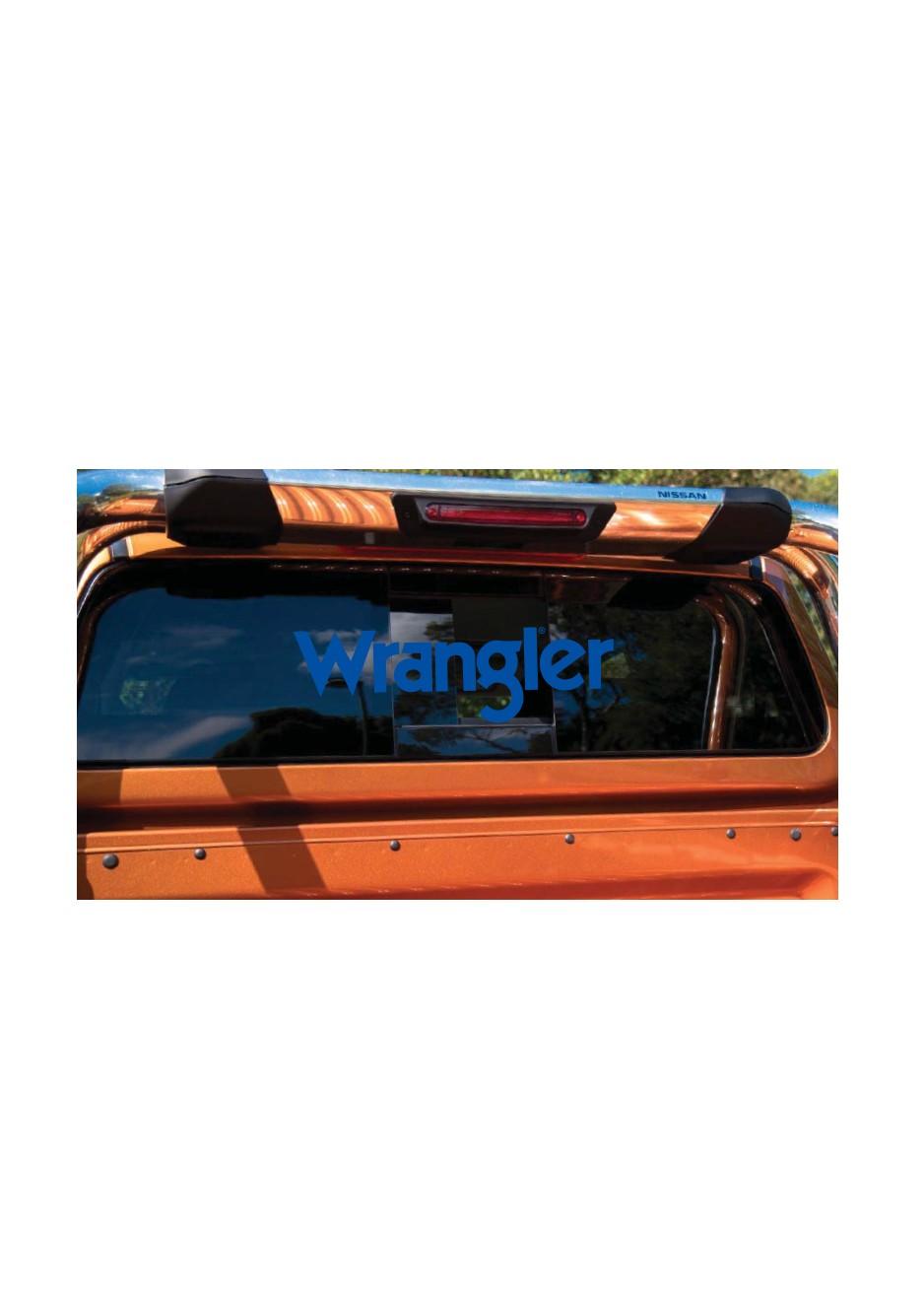WRANGLER UTE STICKER
