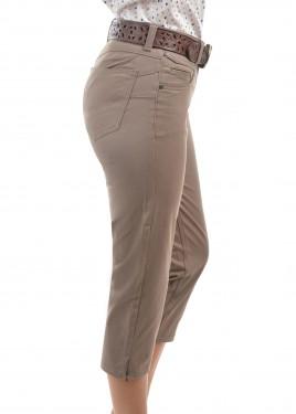 WOMENS YAMBA CROP WONDER JEAN CAPRI SLIM LEG
