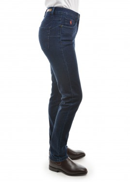 WOMENS WOOL DENIM SLIM LEG WONDER JEAN 32 LEG