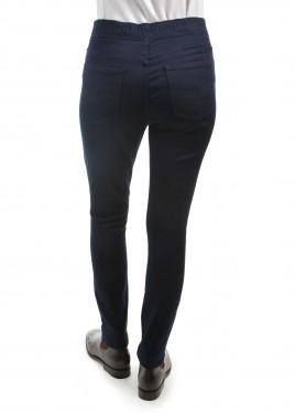 WOMENS NO FUSS PULL-ON SLIM LEG WONDER JEAN 30 LEG