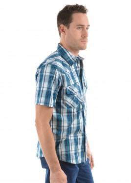 MENS RORY CHECK S/S SHIRT
