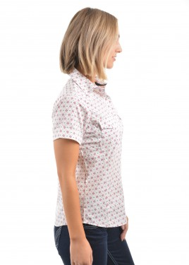 WOMENS CHRISTY PRINT S/S SHIRT